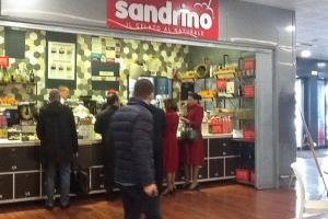 "Кафе-джелатерия""Сандрино"" в аэропорту Бриндизи"