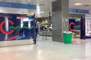 Выход на посадку на первом этаже аэропорта Бриндизи