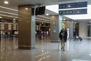 Стойки регистрации в аэропорту Бриндизи