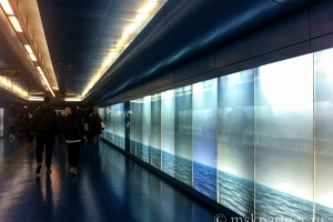 В метро Неаполя
