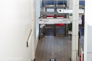 Вестибюль станции МЦК Панфиловская