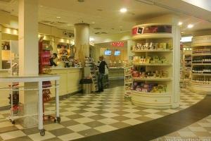 Кафетерия в зоне вылета аэропорта Пизы