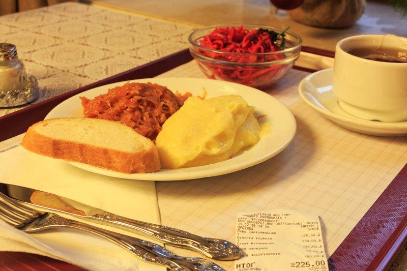 Где позавтракать в москве недорого