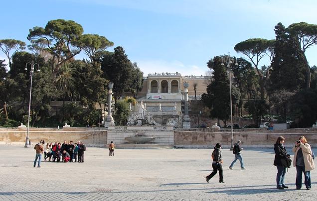 Погода в Риме в феврале