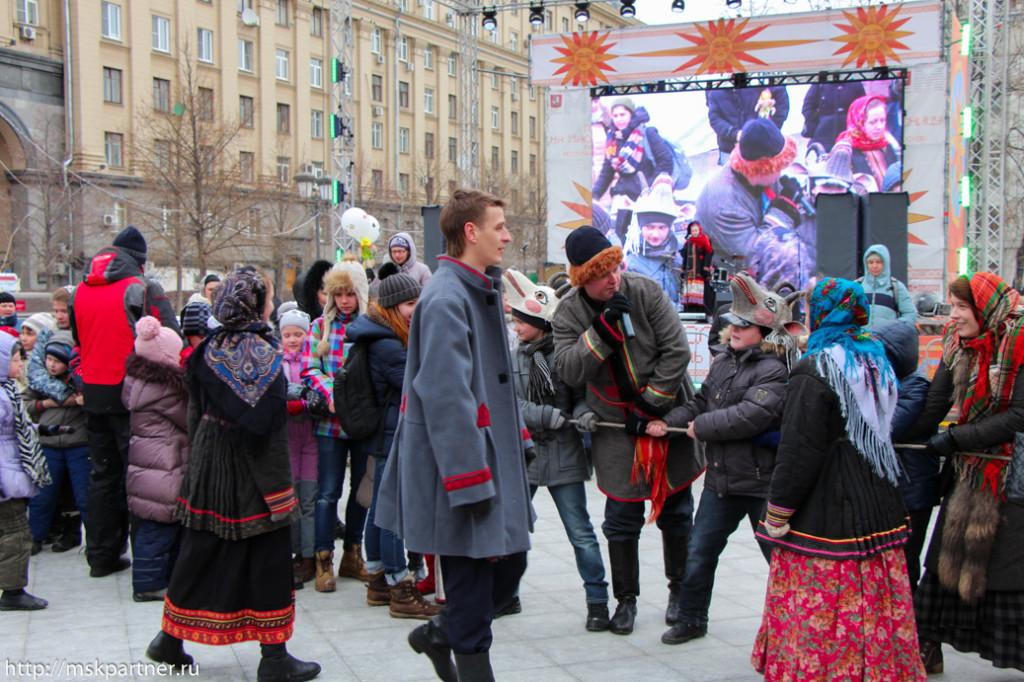 Масленица в Москве, праздники