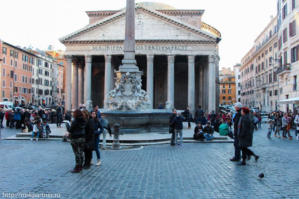 Маршрут по Риму, экскурсии по Риму