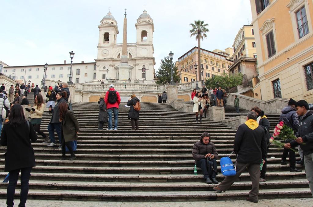 испанская лестница, Рим, Достопримечательности Рим,