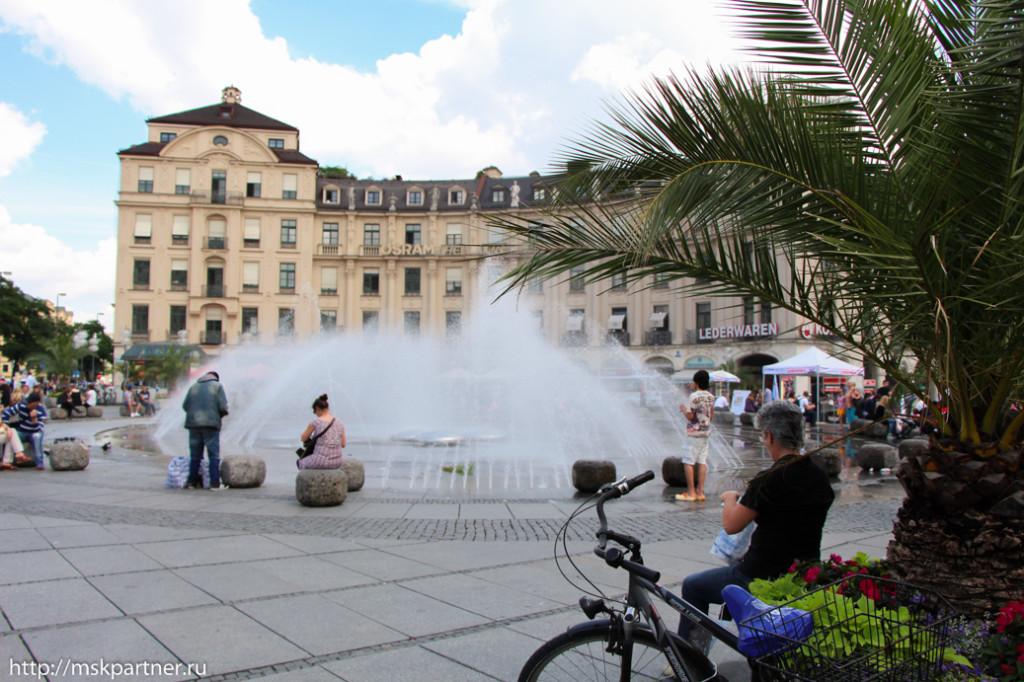 Город Мюнхен, путешествия, Германия