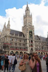 Мариенплац в городе Мюнхен