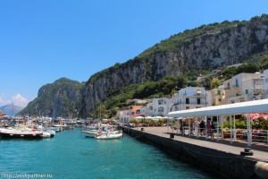 Остров Капри, Италия, море