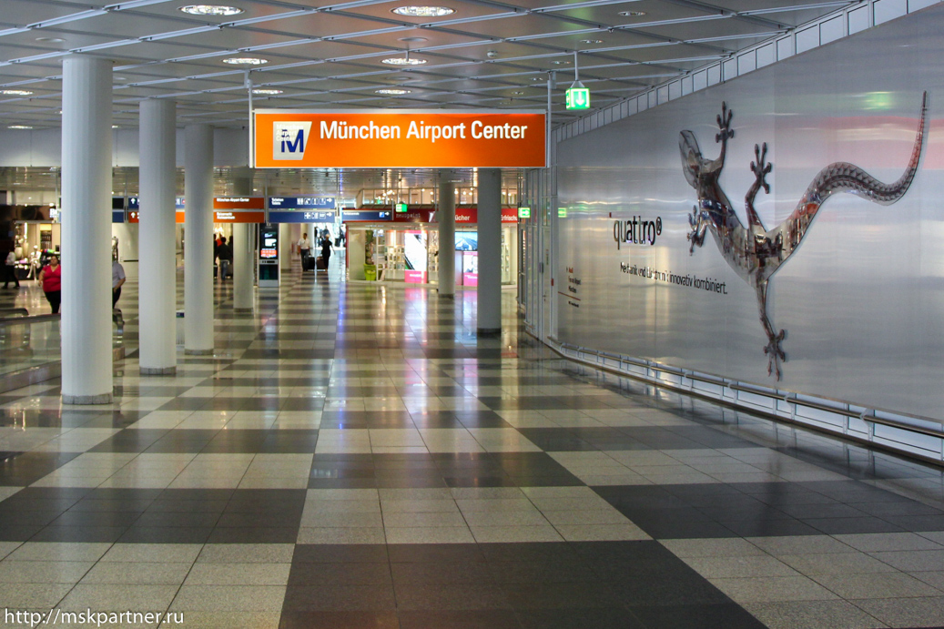 Из аэропорта в Мюнхен самостоятельно фото