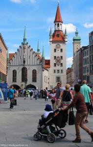 Старая Ратуша, достопримечательности Мюнхена