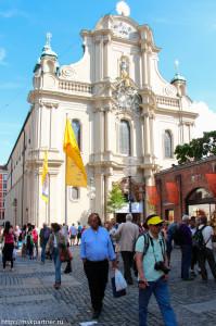 Церкви в Мюнхене, достопримечательности Мюнхена, Мюнхен