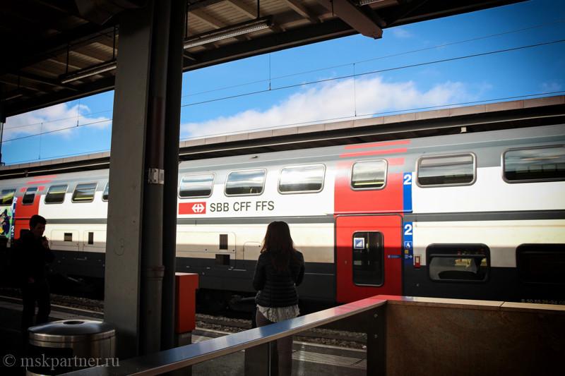 Как добраться из аэропорта в Цюрих